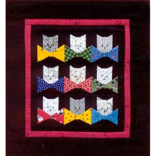 Nine Lives Quilt Pattern by MH Paper Pieced Designs