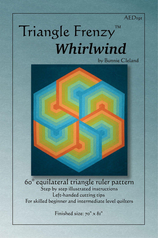 Triangle Frenzy Whirlwind by Bunnie Cleland