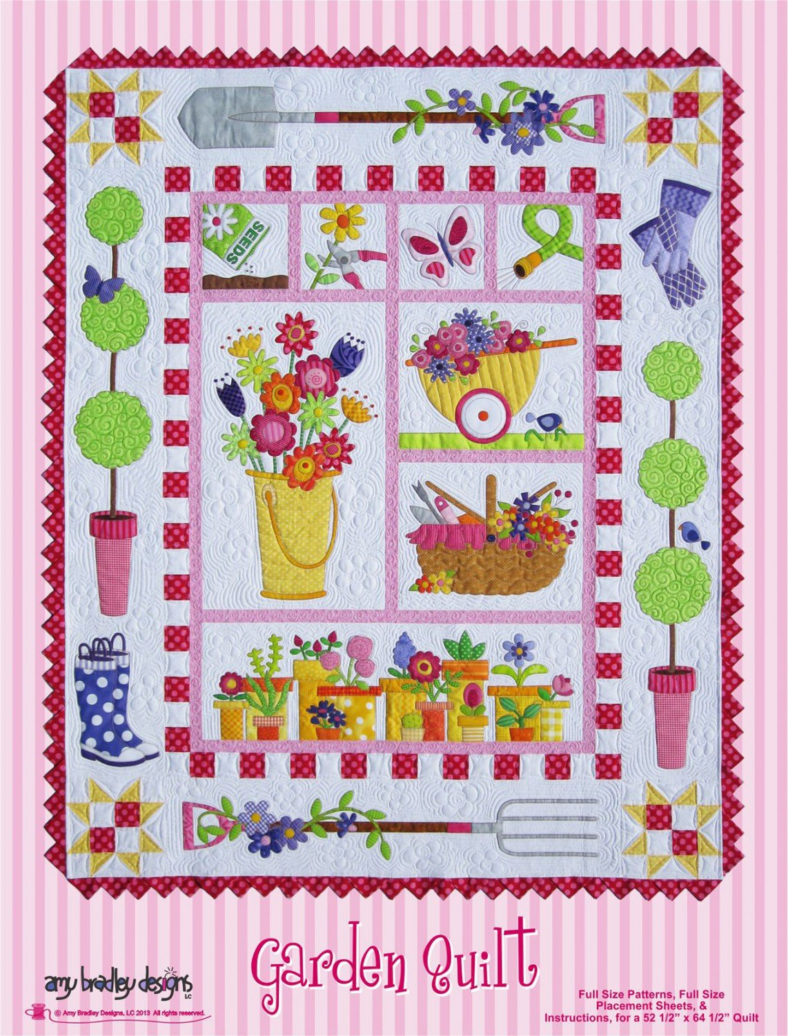 Garden Quilt Block of the Month Set by Amy Bradley Designs