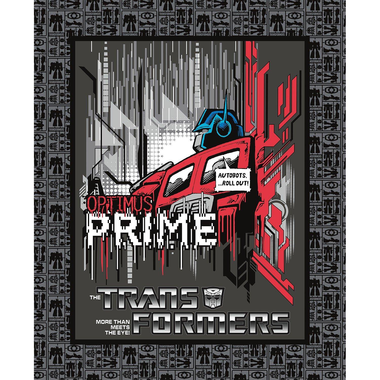 23493 Disney Carbon Transformers Optimus Prime Panel