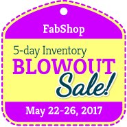 It's our Blowoutout Sale!