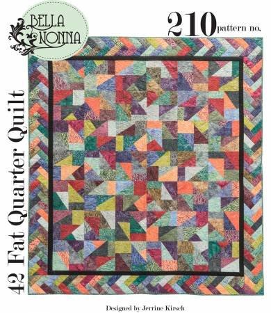 42 Fat Quarter Quilt BN210