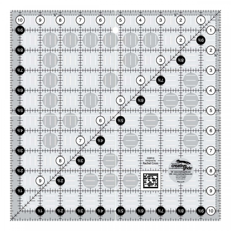 CGR10 Creative Grid Square Ruler