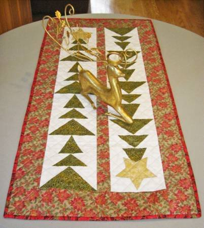 Tall Trees Christmas Table Runner