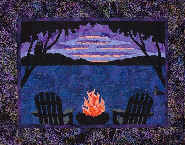 Sue Pritt  - Evening Blaze Pattern