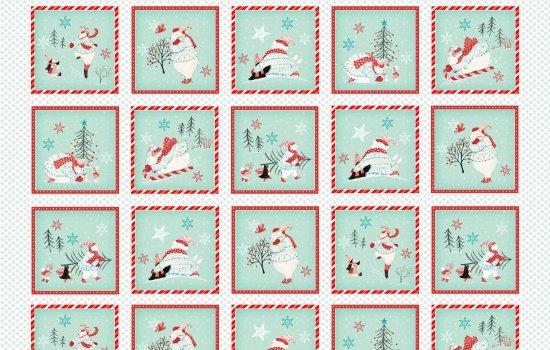 23461 Polar Bear Squares