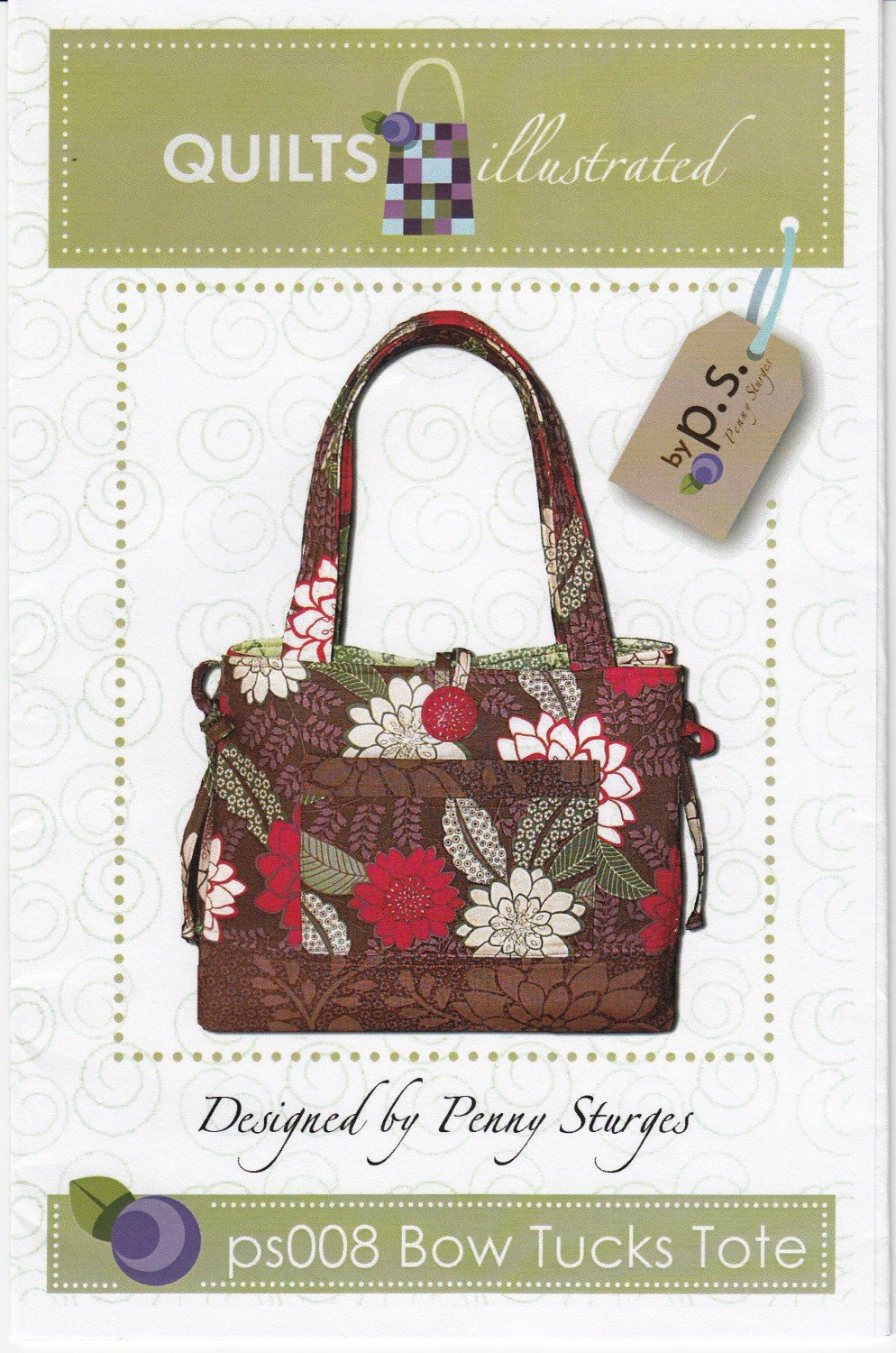 Bow Tucks Tote by Quilts Illustrated