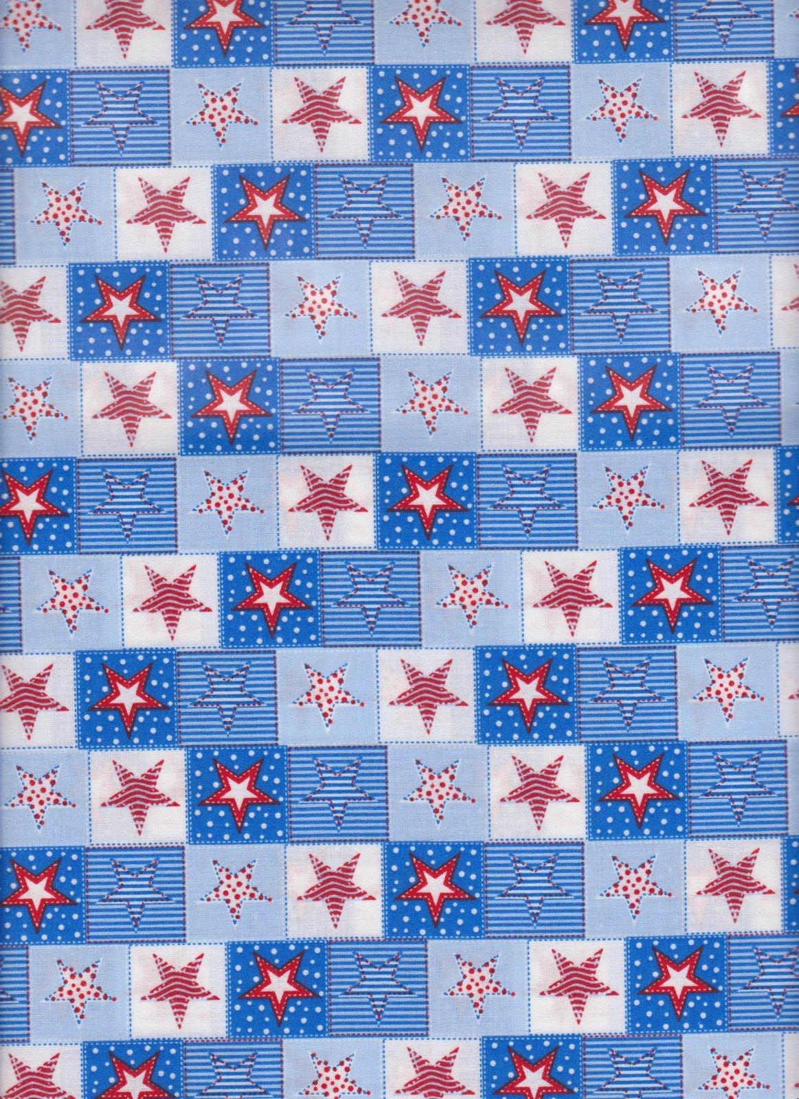23836 Patriotic Quilted Stars