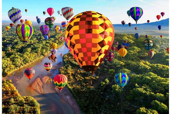 Hot Air Balloons Panel