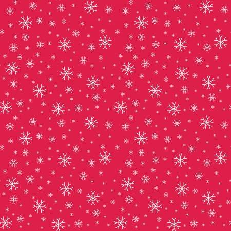 30037 Red Snowflake