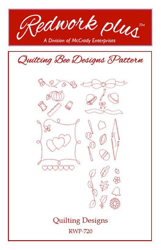#20 Quilting Designs - Redwork