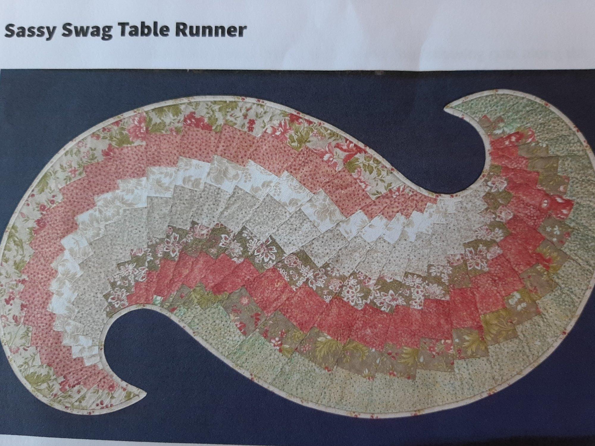 Sassy Swag Table Runner