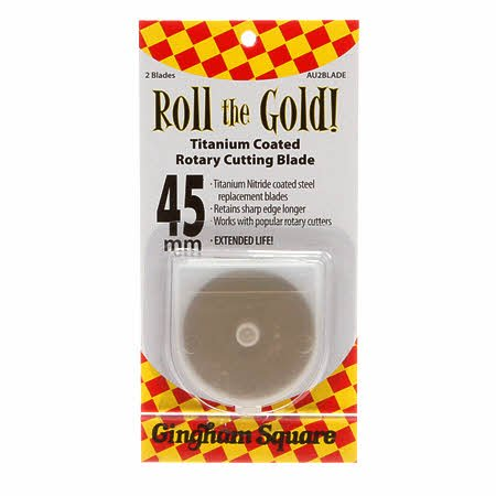 Roll the Gold - Two 45mm Replacement Blades