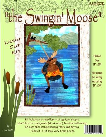 Sue Pritt the Swinging Moose Kit