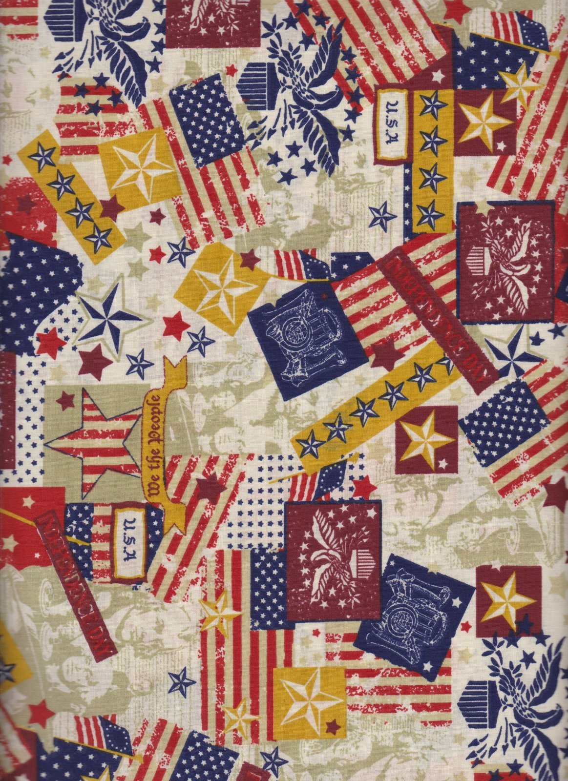 23838 Patriotic Stars, Bars and Flags