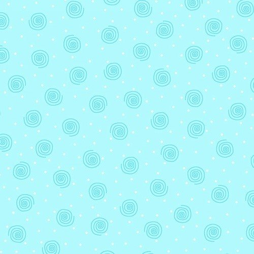 Comfy Prints Flannel - Blue Swirl