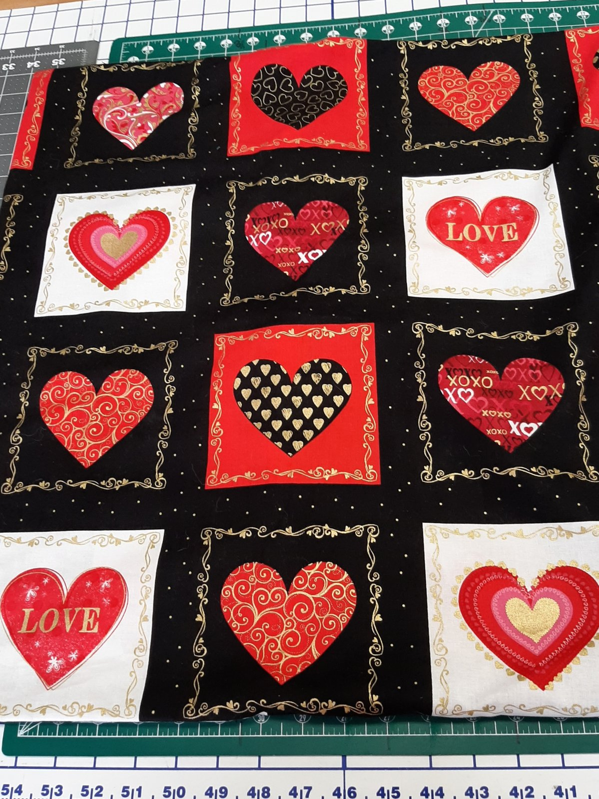 Valentine Pillow cover 22x23