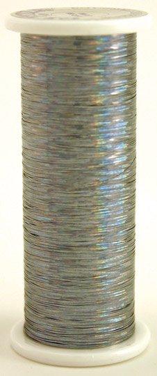 #109 STEEL  Glitter (hologram) 400 yds.