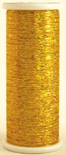 #201 GOLD Glitter (hologram) 400 yds.