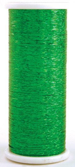 #205 GREEN  Glitter (hologram) 400 yds.