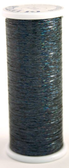 #207 MIDNIGHT  Glitter (hologram) 400 yds.
