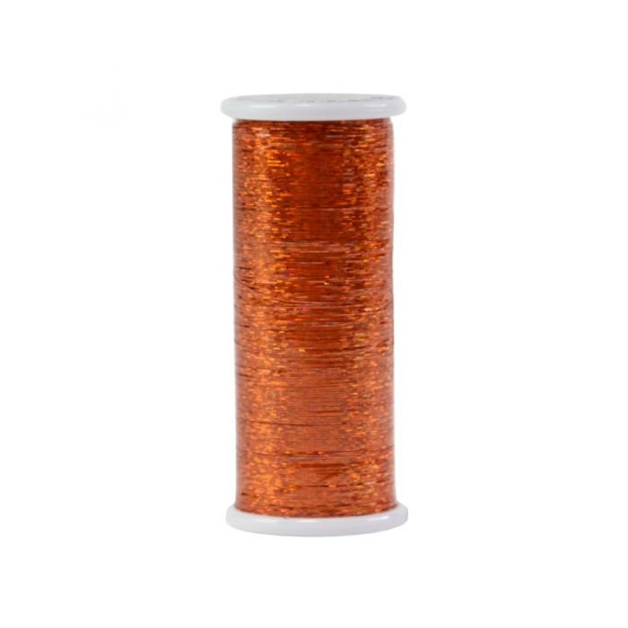 #266 Orange  Glitter (Hologram) 400 yds.