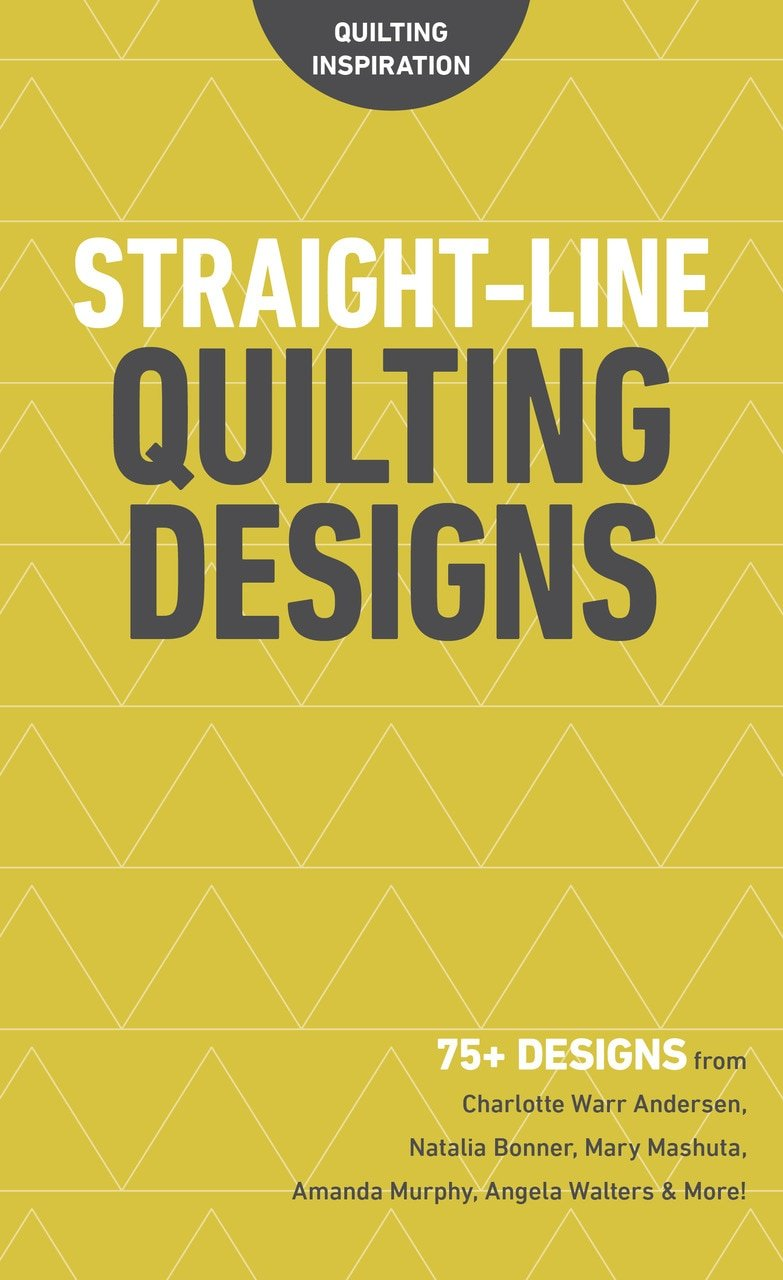 Book. Straight Line Quilting CT Publ