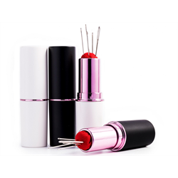 Handy Lipstick Holder Hand Needles