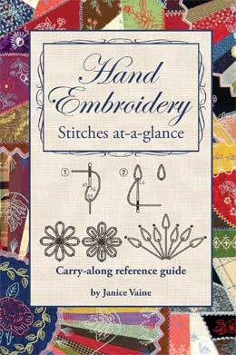 Book. Embroidery Handbook Stitch Instructions by Janice Vaine