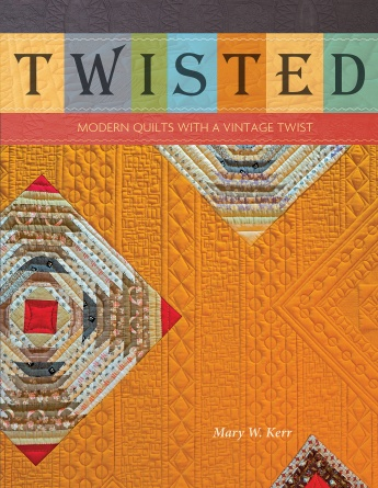 Book. Twisted Modern Quilts with Vintage Twist Schiffer Publ