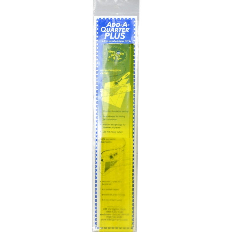 Add a Quarter Ruler Combo 1/4 inch lip