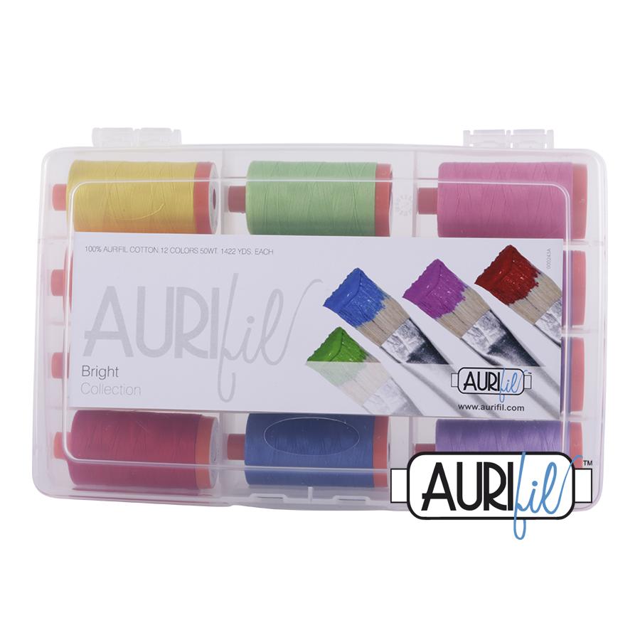 Aurifil Brights Collection 50 wt