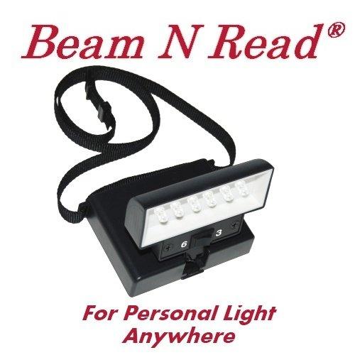 Beam 'n Read 6 LED Light (BLACK Case)