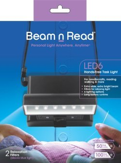 Beam 'n Read 6 LED Light
