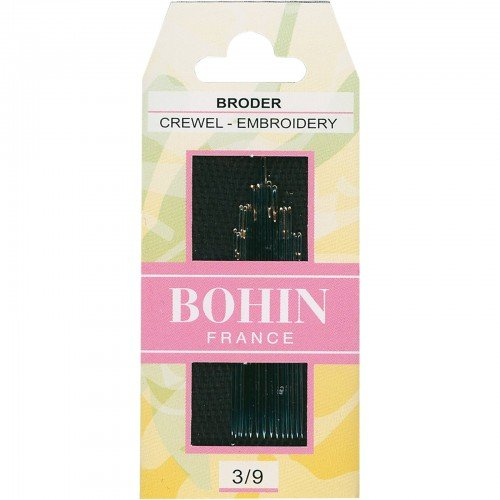 Bohin Embroidery/Crewel Hand Needles 3/9 Asstd