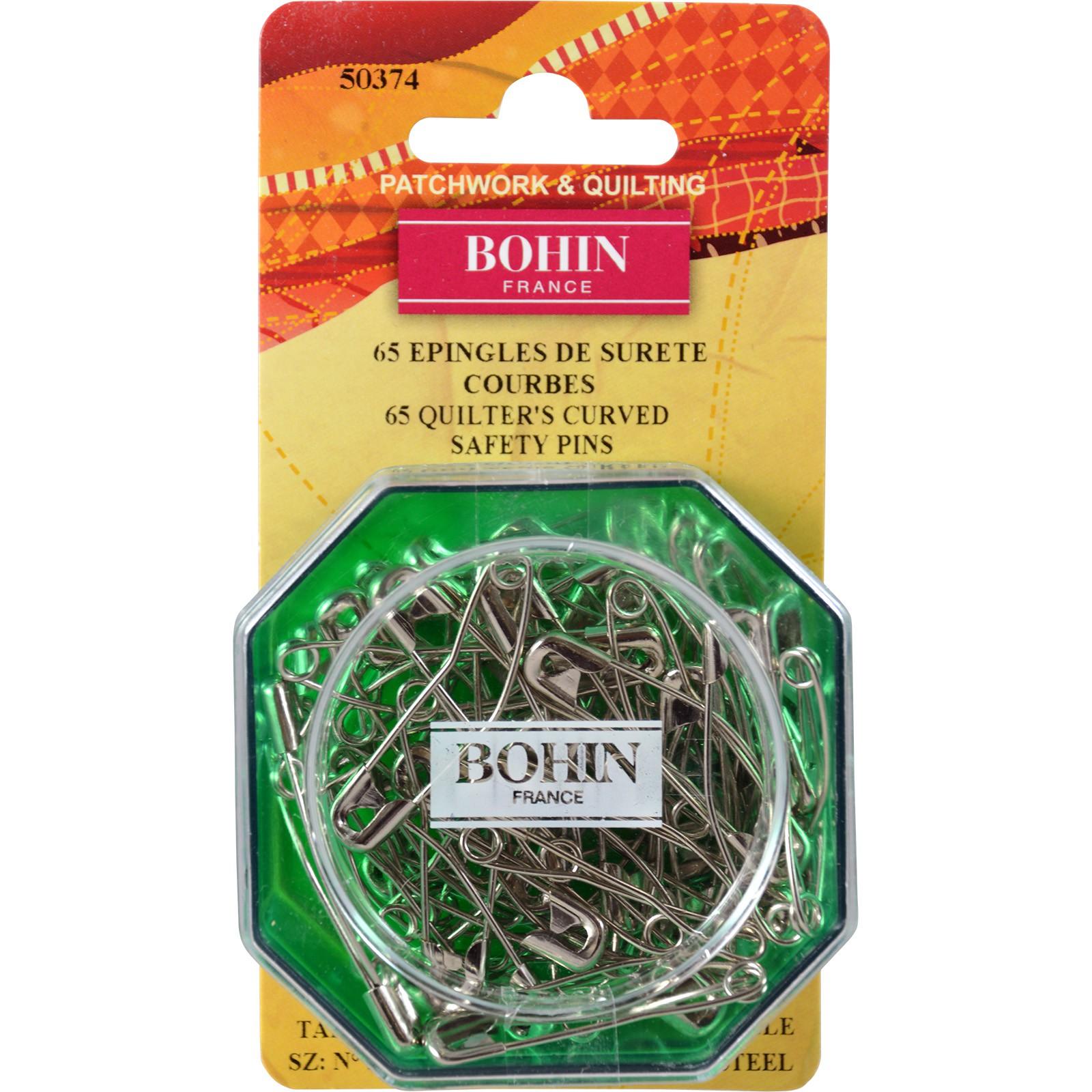 Bohin Curved Pins 65 ct