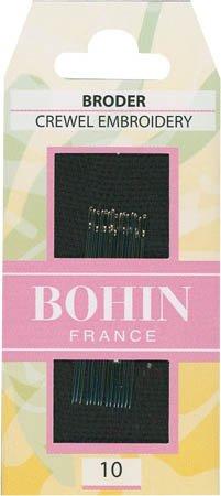 Bohin Embroidery Crewel Hand Needles 10