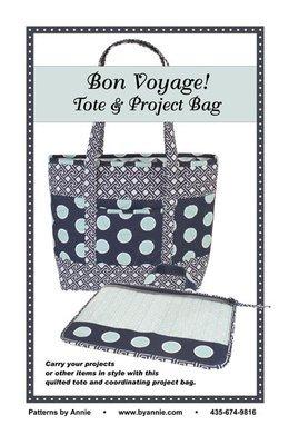 Pattern. Bon Voyage Tote Bag by Annie