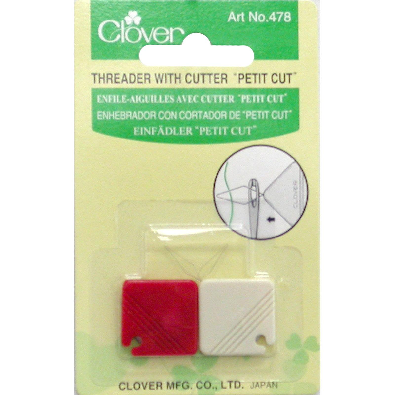 Clover Needle Threader w/ cutter