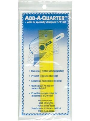 Add a Quarter Ruler 6 1/4 inch lip