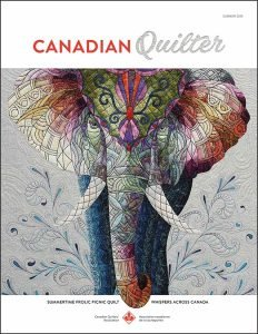 the Canadian Quilter Newsletter Publication/Magazine