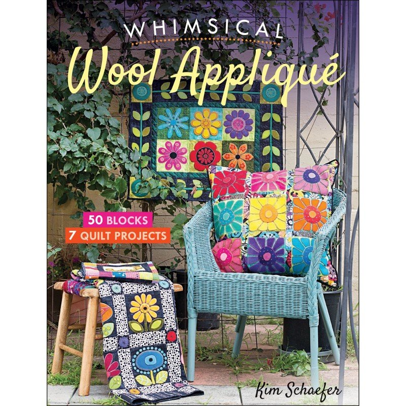 Book. Whimsical Wool Applique by Kim Schaefer