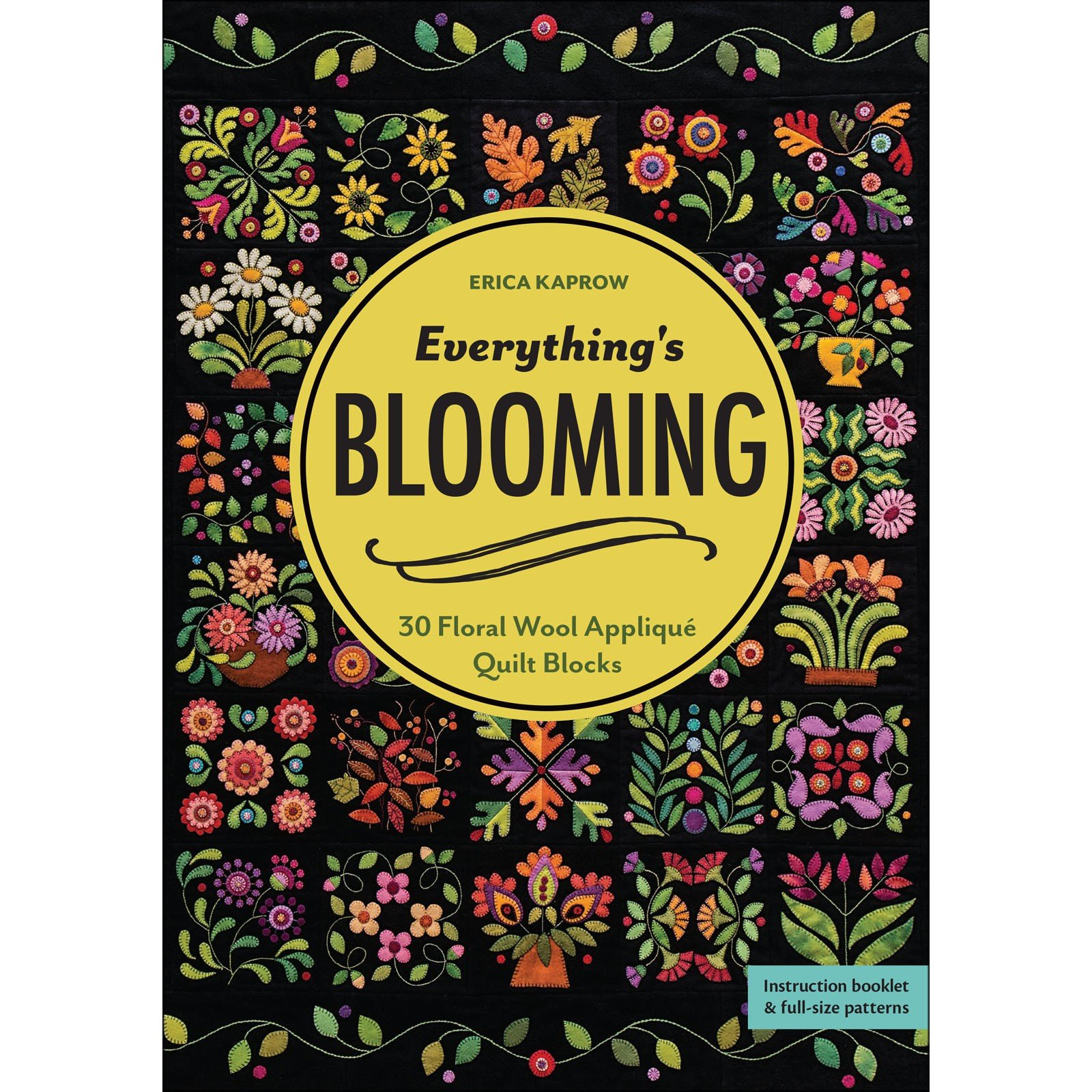 PatternBook. Everythings Blooming by Erica Kaprow