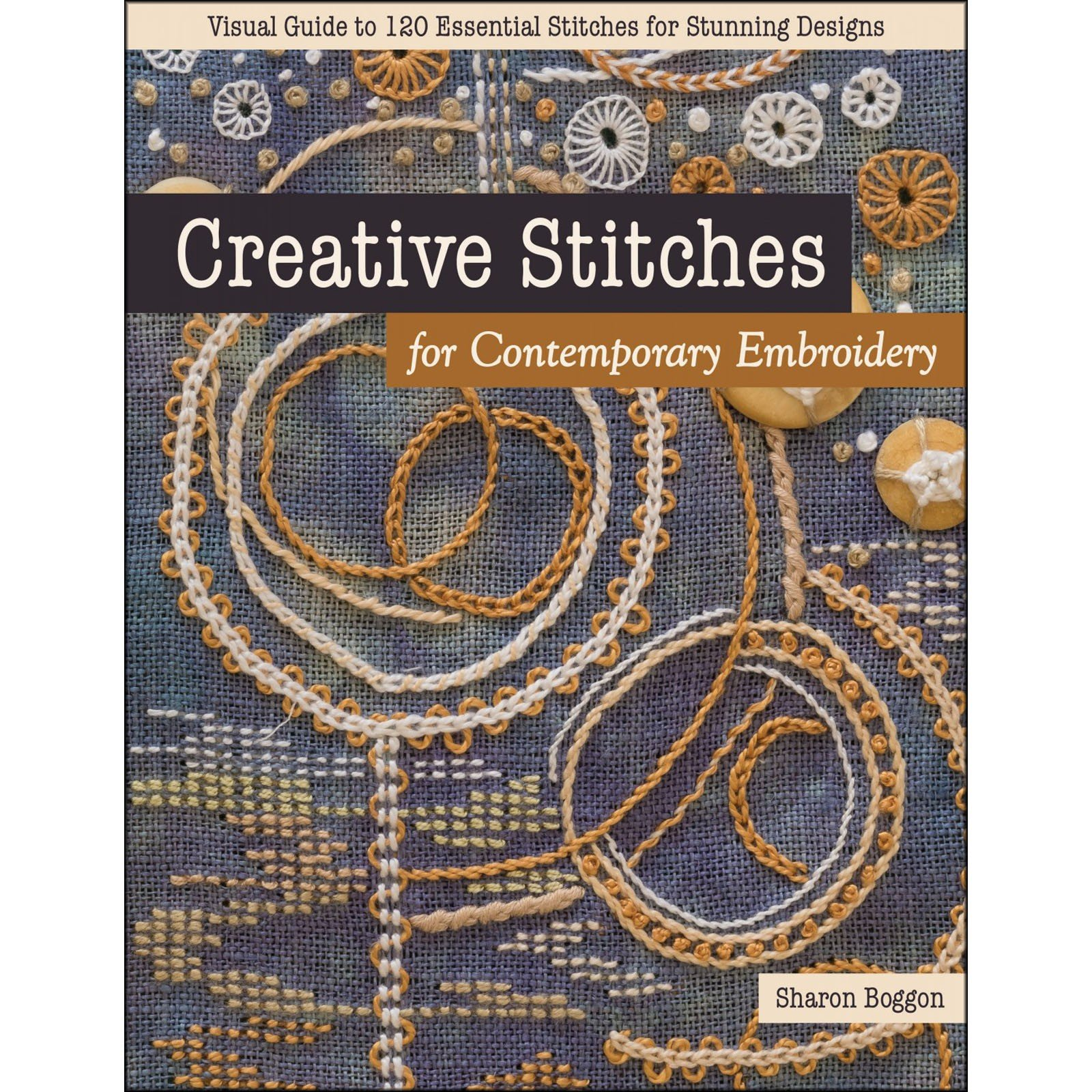 Book. Creative Stitches by Sharon Boggon CT Publ