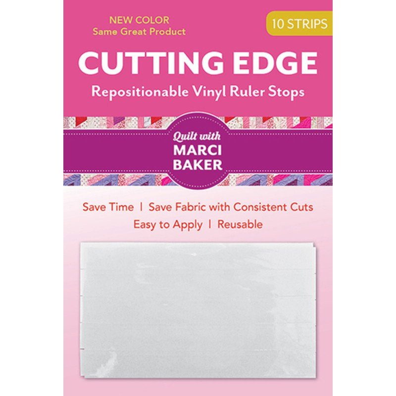 Q Tools Cutting Edge Strips (10) vinyl repositionable