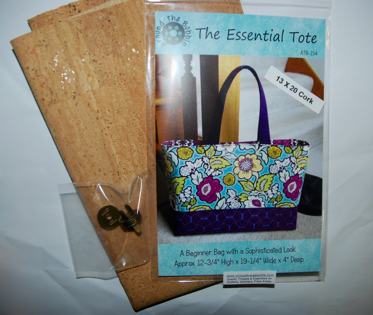 Pattern. The Essential Tote/Bag KIT
