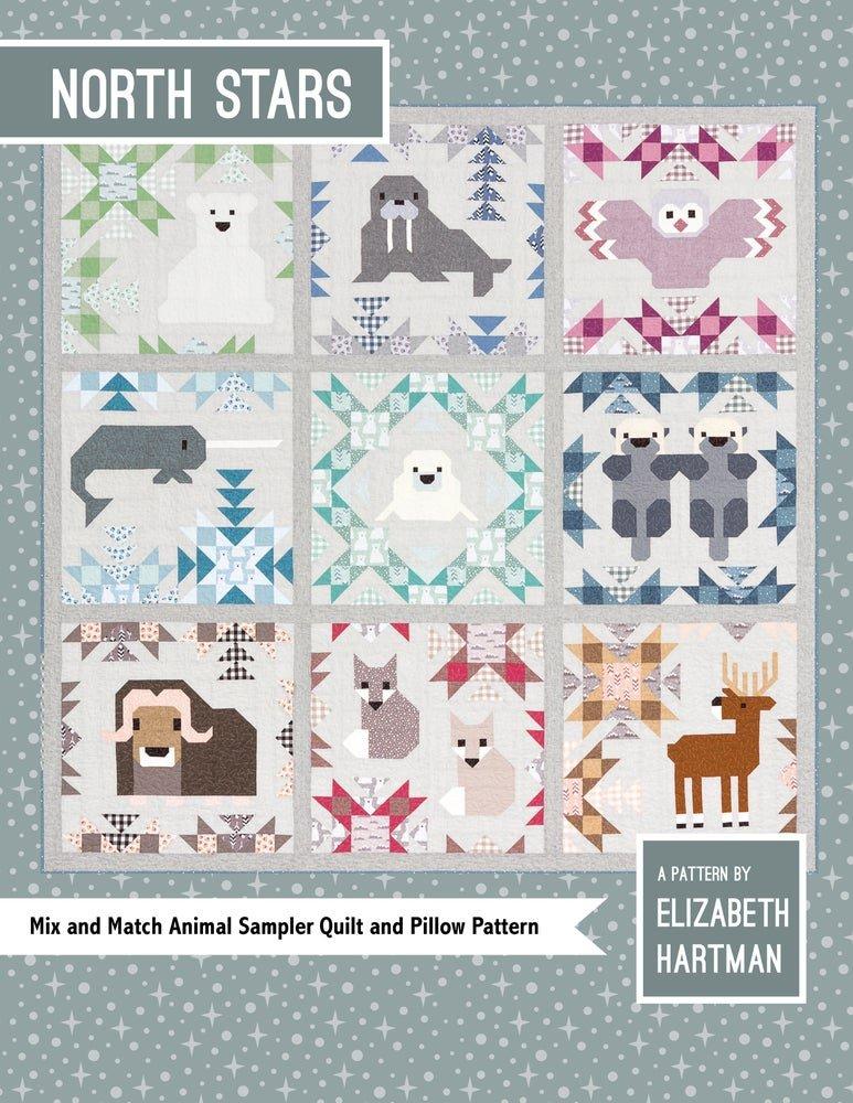 Pattern. North Stars Sampler by Elizabeth Hartman SALE!