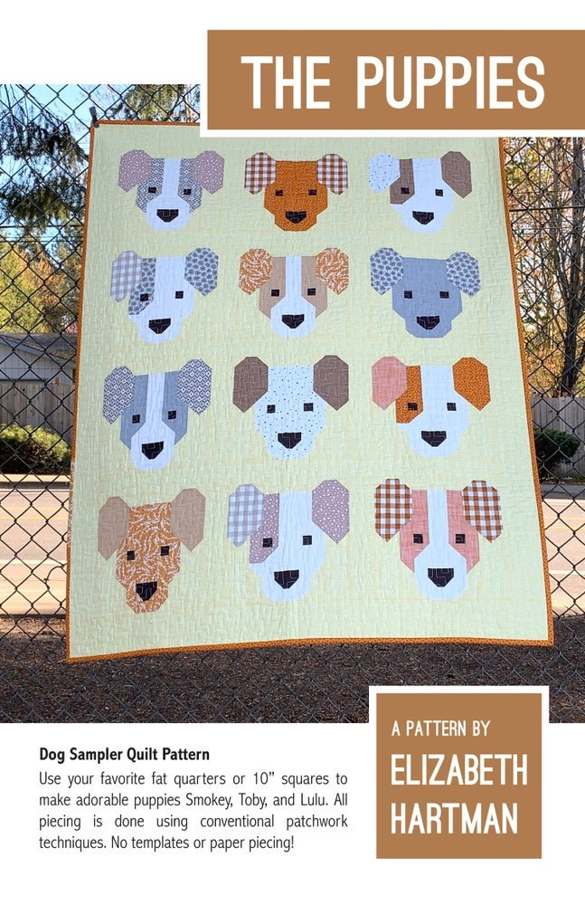 Pattern. The Puppies by Elizabeth Hartman