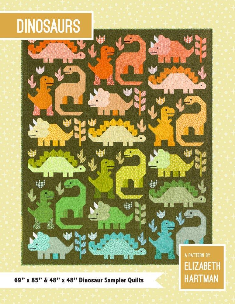 Pattern. Dinosaurs by Elizabeth Hartman
