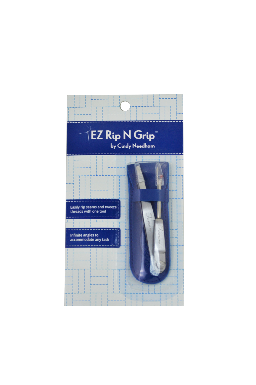 NEW EZ RipNGrip Tweezers Seam Ripper by Famore